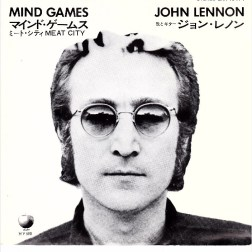 John Lennon - Mind Games - Japan Single 1973
