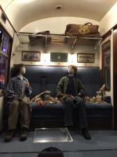 day 7.2 ron and harry first train