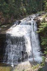 The beautiful Ousel Falls