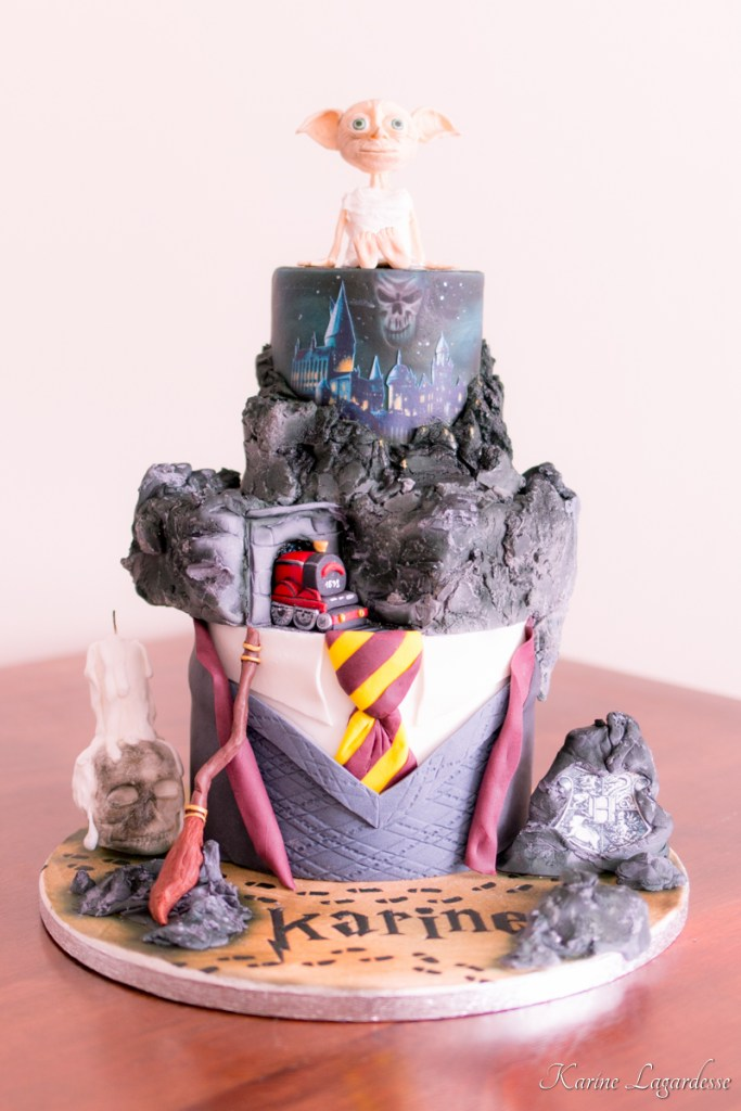 gateau anniversaire harry potter cake design bordeaux 1 made me happy blog lifestyle bordeaux. Black Bedroom Furniture Sets. Home Design Ideas