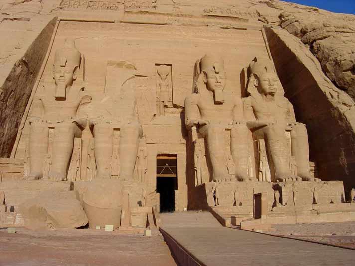 Abou-Simbel - Egypte - Blog Made Me Happy