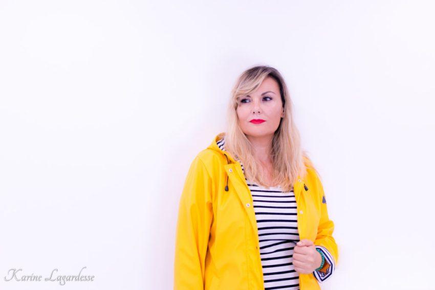 Ciré jaune Hublot - Blog Made Me Happy Bordeaux
