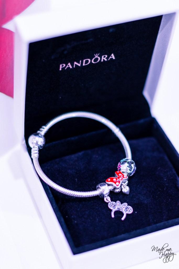 Bracelet Pandora Disney - Cadeau Saint Valentin - Blog lifestyle
