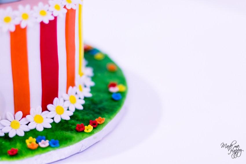 Gâteau anniversaire Mary Poppins - Les Gateaux de Lilou - Cake Design