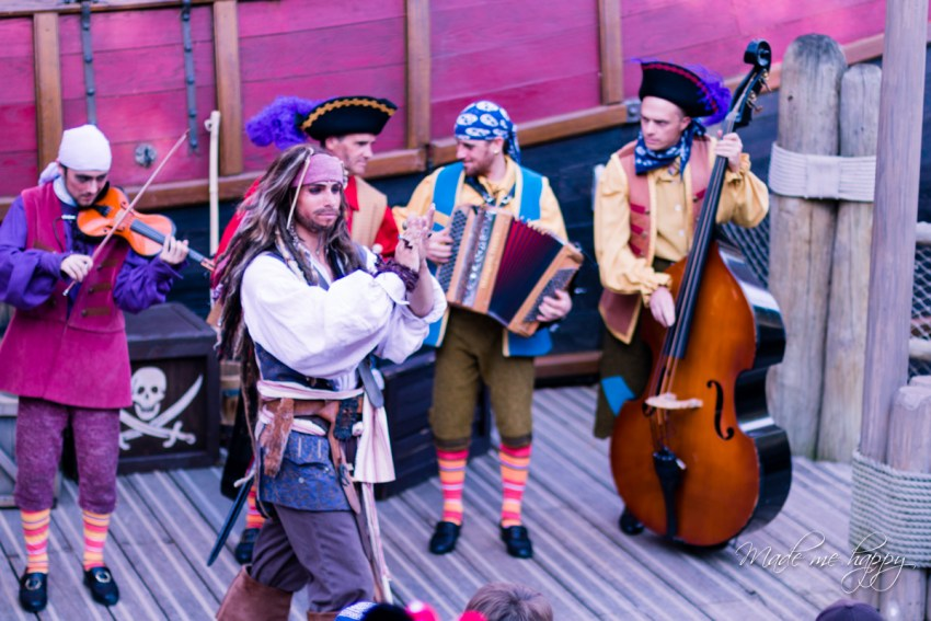 Spectacle jack Sparrow - Disneyland Paris - Blog lifestyle bordeaux