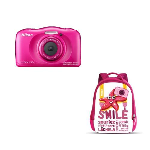 Compact-Nikon-Coolpix-W100-Rose-Sac