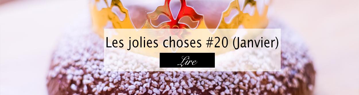 Jolies choses Janvier 2019 - Blog lifestyle Bordeaux