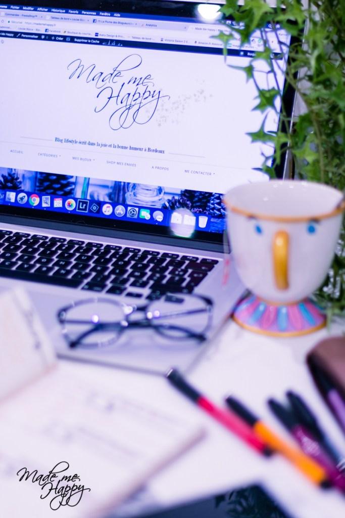 Organisation vie quotidienne - blog lifestyle bordeaux