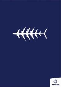 Affiche Poisson d'Avril Airbus