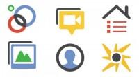 Icones Google +