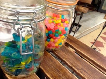 Bonbons en libre-service