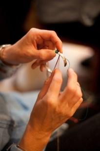 Création de bracelets Massaï