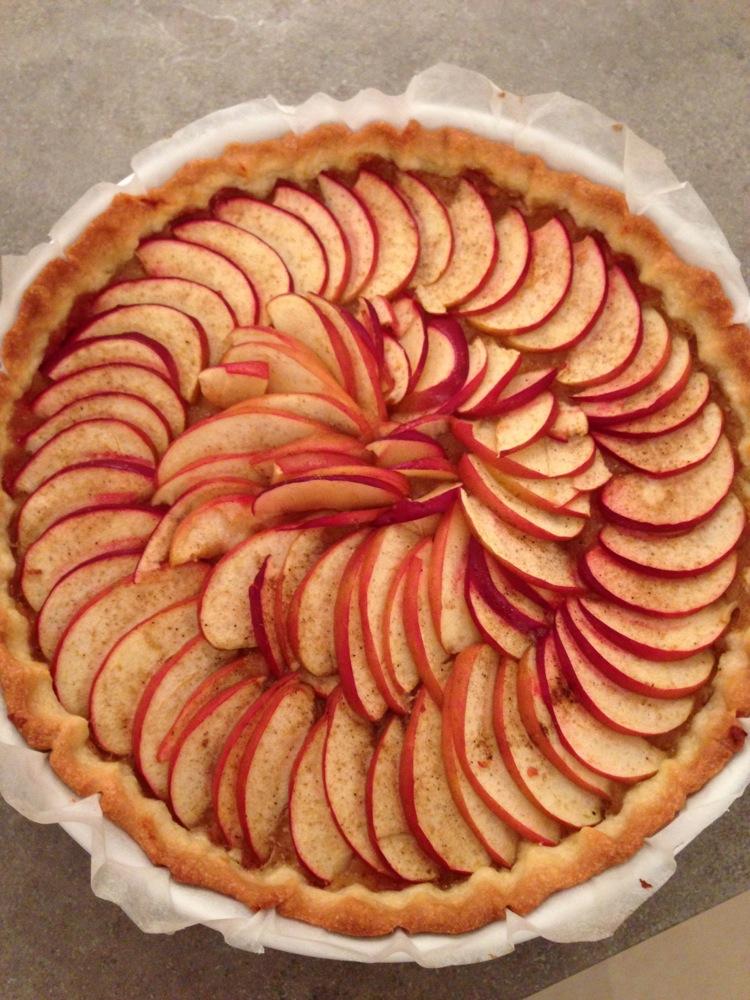 Photo tarte aux pommes