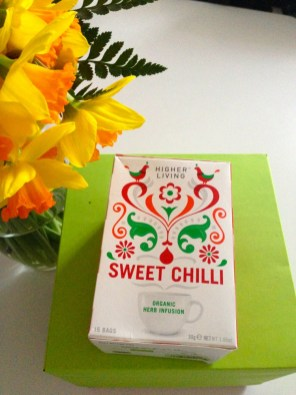 Infusions Sweet Chilli - Higher Living Vegan Box Promo