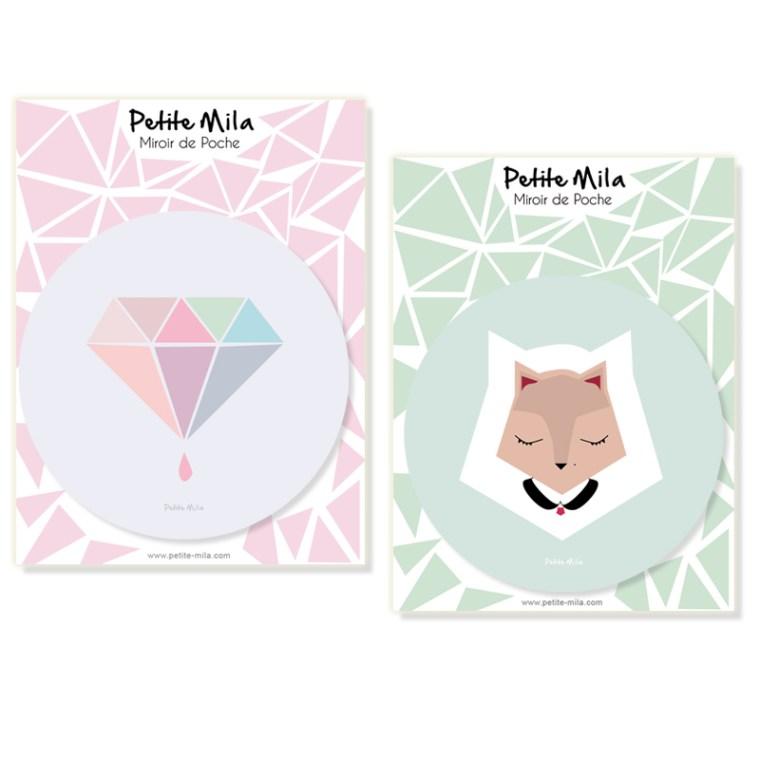 miroirs de poche Petite Mila