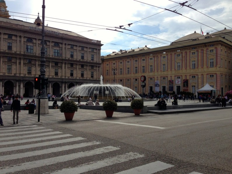 Piazza de Ferrari Genes