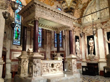 Intérieur Cathédrale San Lorenzo Genes