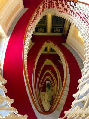 Escalier Bristol Palace