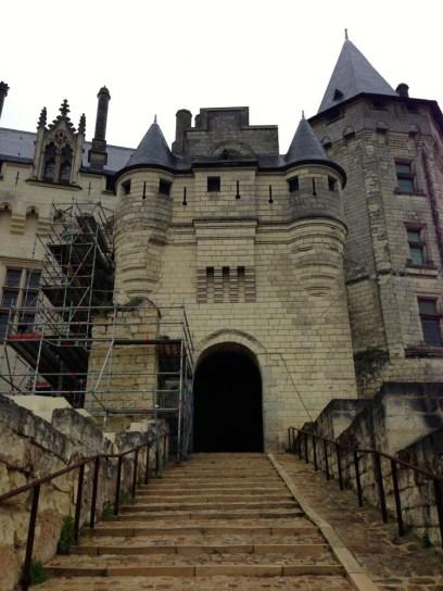 Entrée du Chateau de Saumur