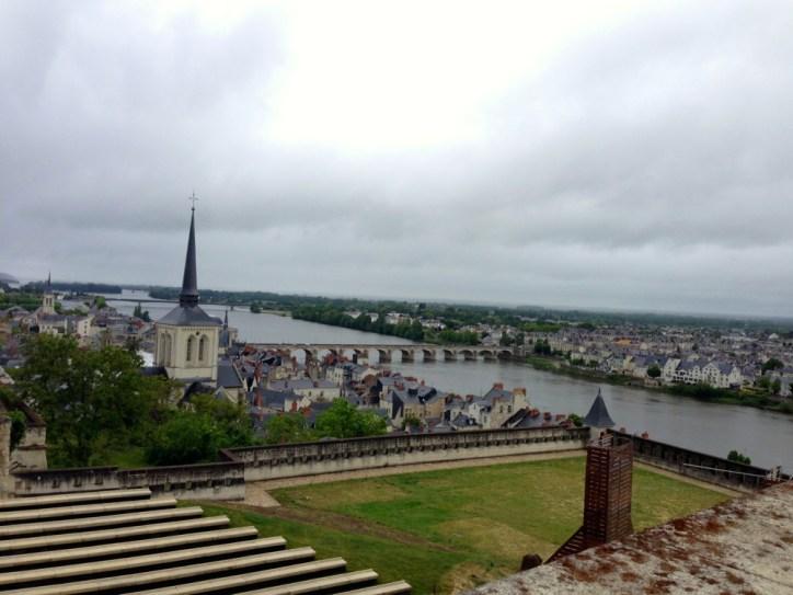 Vue depuis le Chateau de Saumur