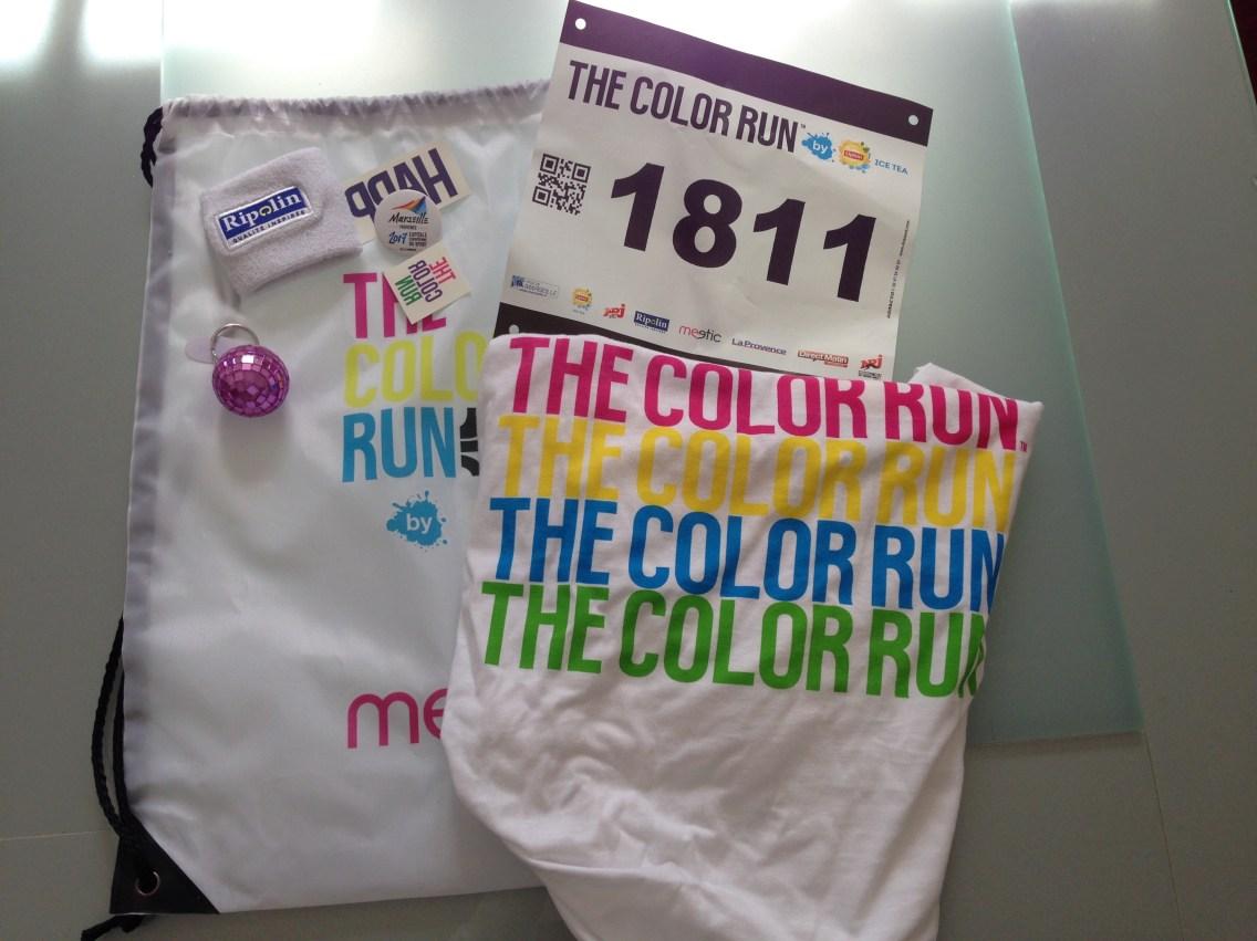 Starter Kit The Color Run