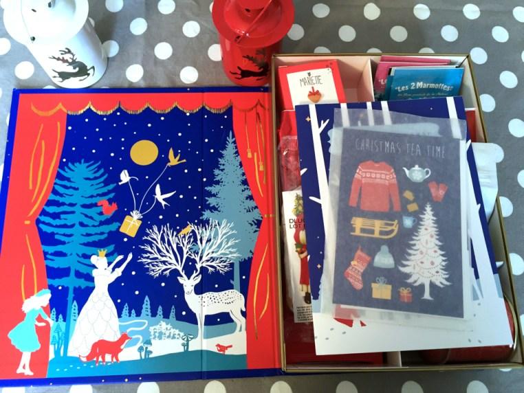 Intérieur La Thé Box Nuit de Noël