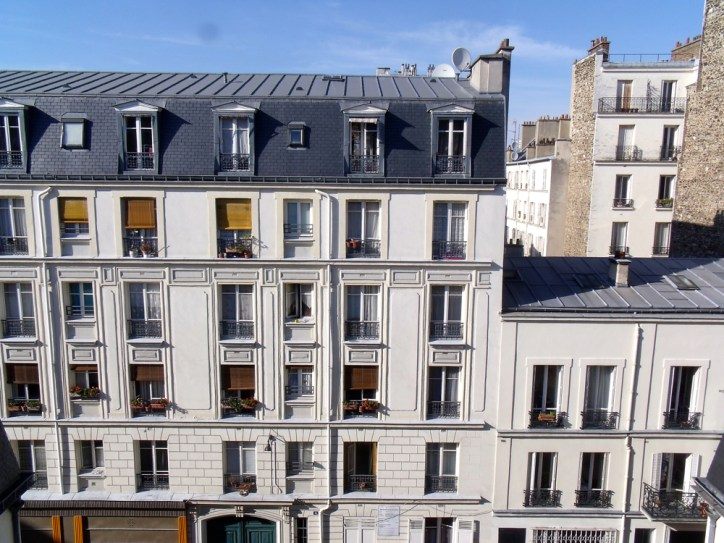 Vue Kube Hotel Paris