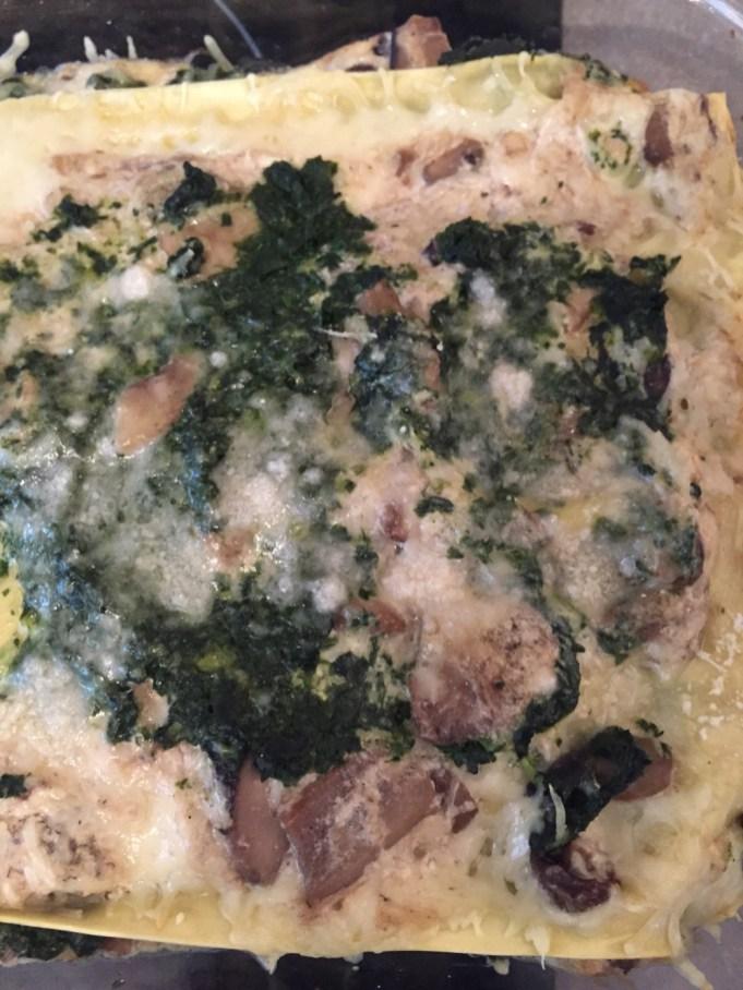 Recette Lasagnes Champignons Epinards - 1