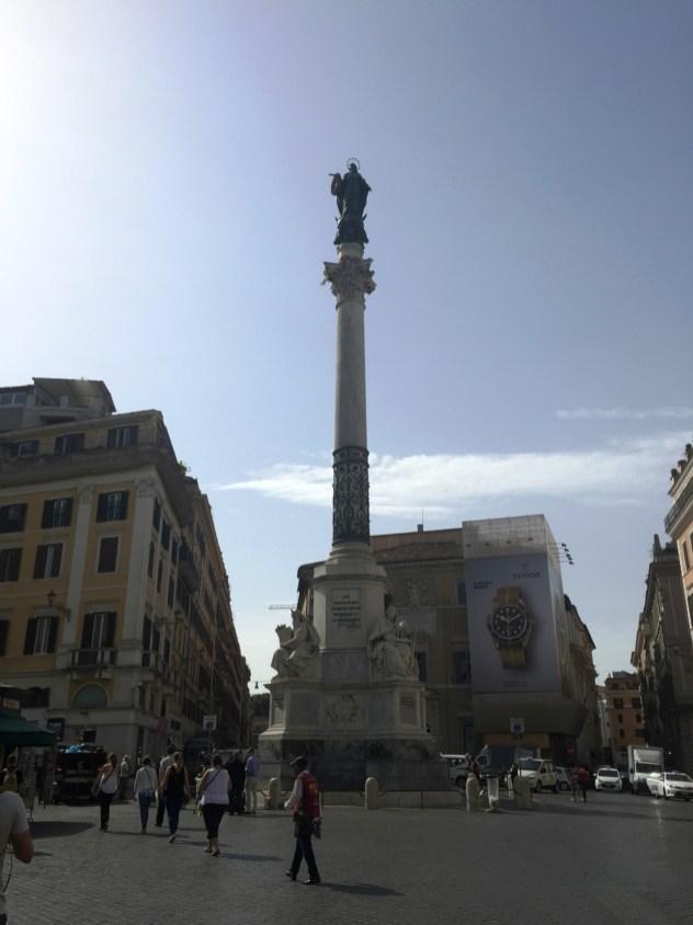 Piazza di Spagna Rome - 1