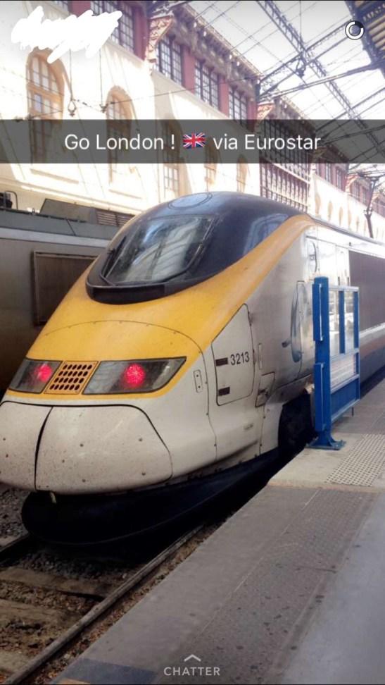 Eurostar Marseille Londres - 1