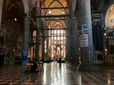Intérieur Basilica San Zanipolo