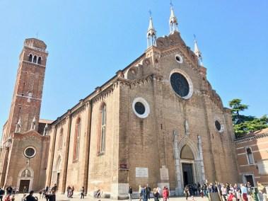 Basilique Santa Maria Gloriosa dei Frari Venise - 1