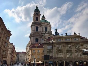 Eglise Saint Nicolas Mala Strana Prague - 1