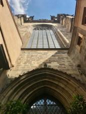 Entrée Eglise Notre Dame du Tyn