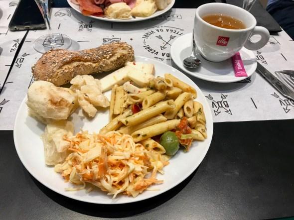 Assiette salée végétarienne