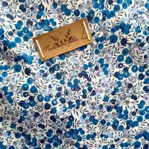 Tissu liberty wiltshire bleu