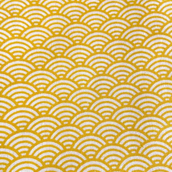 Eventail jaune