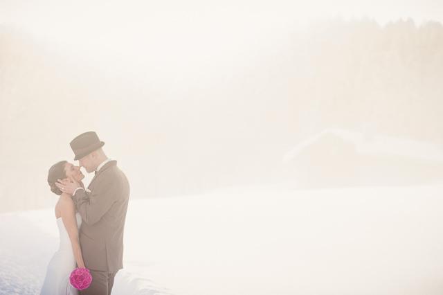 Hochzeit von Susanne und Niko in Lenzerheide.