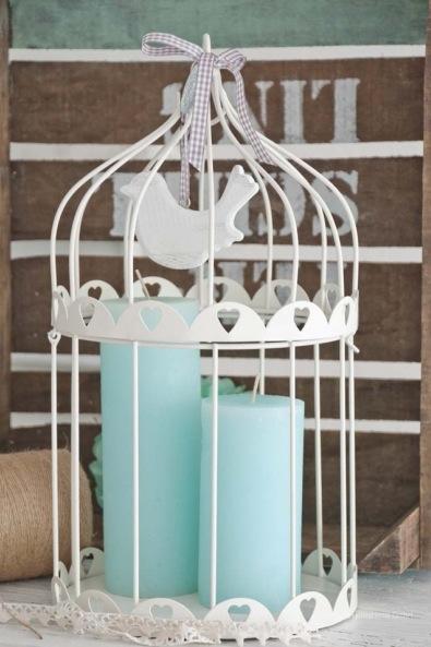 Vintage Vogelkäfig Hochzeit Deko HoneyHome