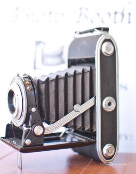 Vintage Kamera Hochzeit Deko HoneyHome