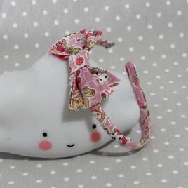 serre-tête petit nœud/accessoire enfant Alice in Wonderland Gallymogger Reynard rose