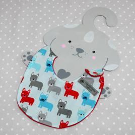 Bavoir bébé 0/8 mois thème renard