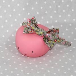 Serre-tête petit nœud/accessoire enfant fleurs d'automne