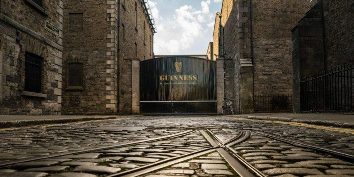Un ingresso della Fabbrica della Guinness