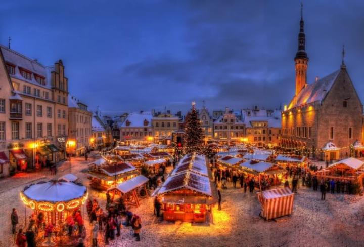 Natale low cost in Europa: Tallin