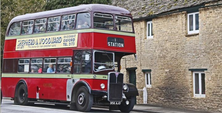 Come visitare le Cotswolds: l'autobus