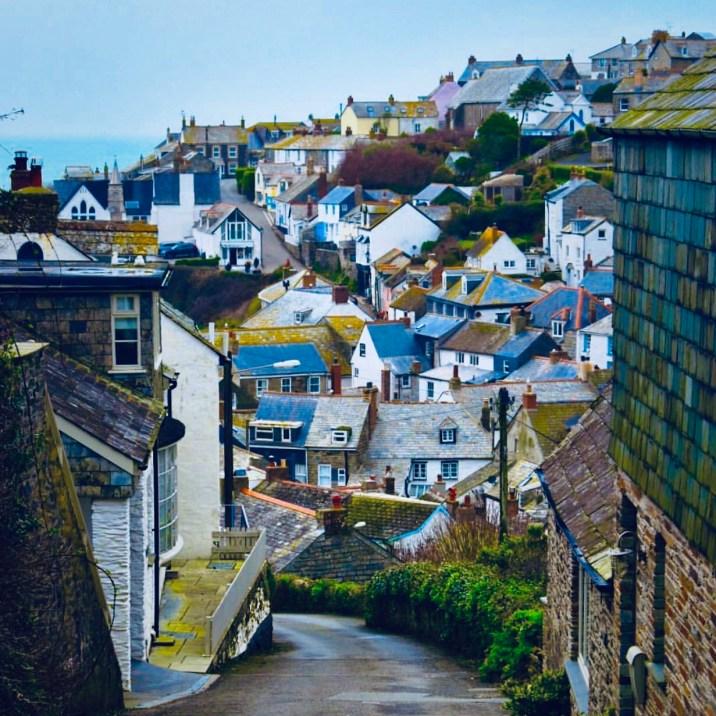 Cornovaglia: Port Isaac uno dei vicoli stretti