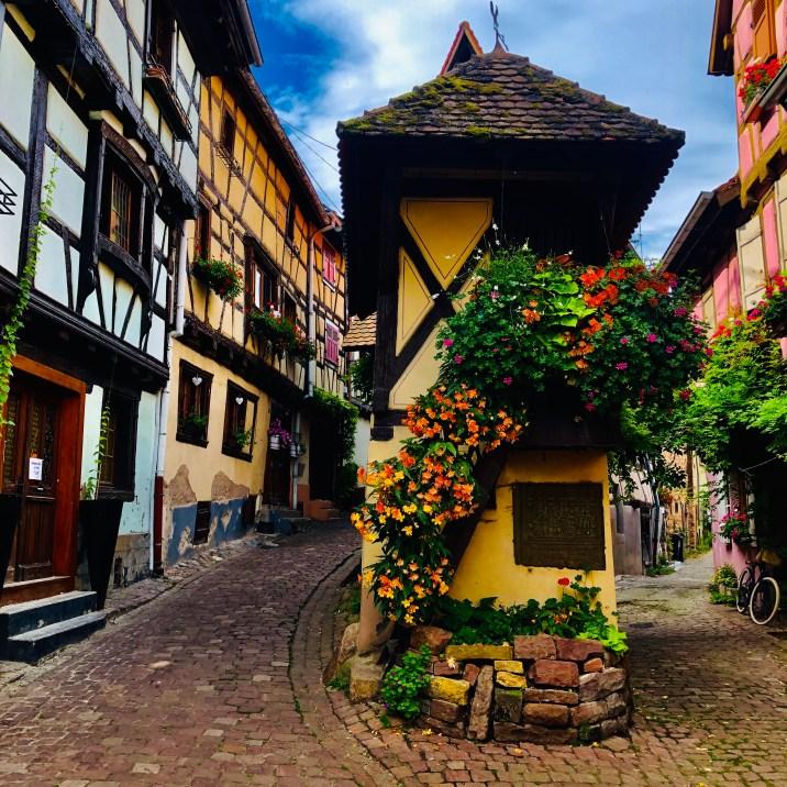 I più bei villaggi in Alsazia: EGUISHEIM