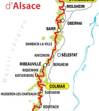 Strada dei vini Alsazia