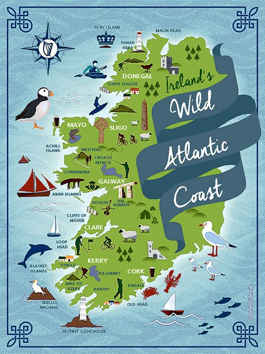 Irlanda: Wild Atlantic Way. Lo splendido itinerario lungo la costa occidentale irlandese